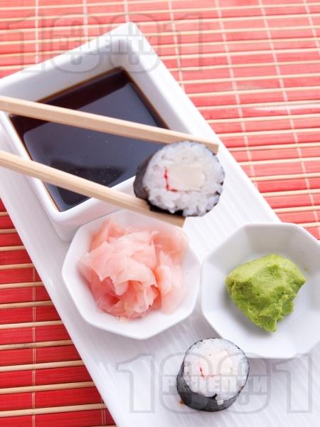 Суши Хосо Маки с рулца от раци - снимка на рецептата